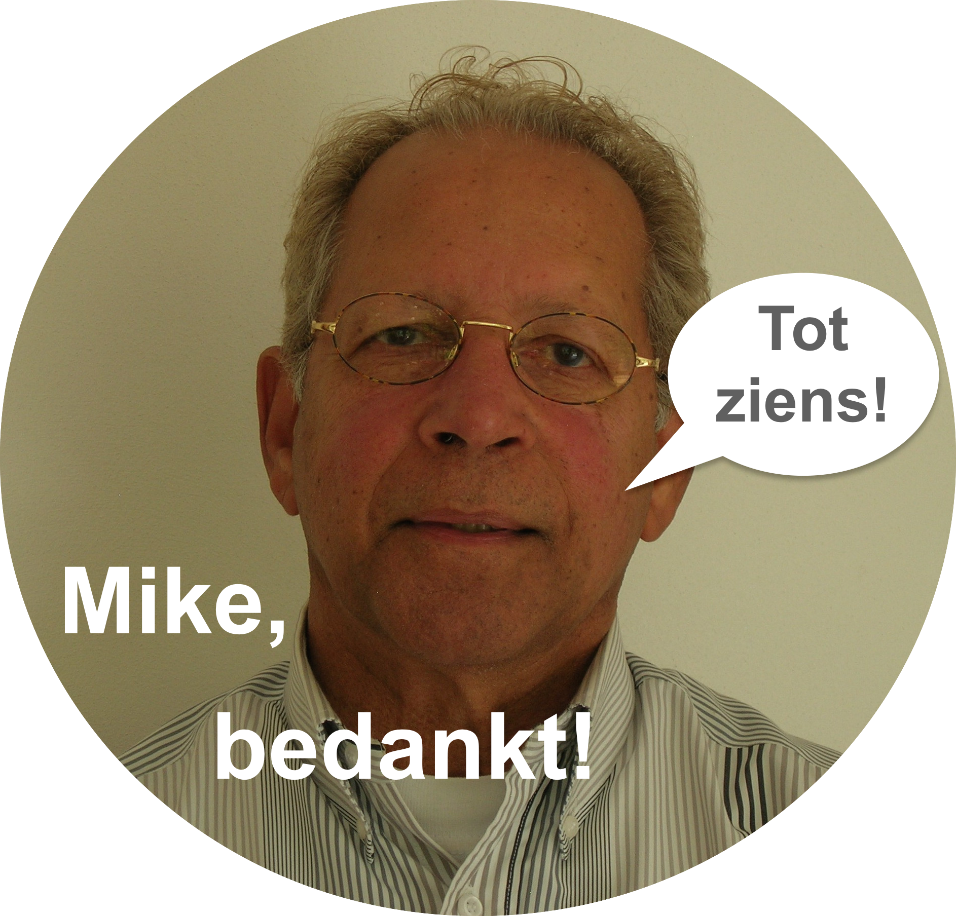 Afscheid Mike
